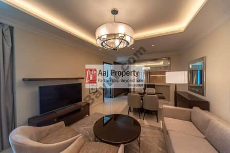 2 Bedroom Flat for Rent in Downtown Dubai, Dubai - No More Bills Just Pay for the Five star The Address fountain Full Burj & Fountain 140,000 Allin  Last Unit