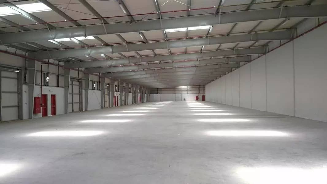 warehouse is large and cheap with one month free