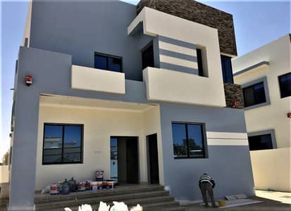 5 Bedroom Villa for Sale in Al Rawda, Ajman - New villa, distinctive finishing, the best villa in Ajman, with a prime location, at a special price, from the owner, close to Al Hamidiya Center