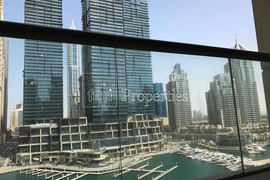 Full Marina View in Iris Blue l 1-BR Apartment