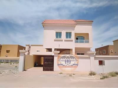 6 Bedroom Villa for Sale in Al Rawda, Ajman - Owning a villa with a monthly payment without a down payment through bank financing