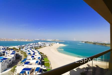 2 Bedroom Flat for Rent in Palm Jumeirah, Dubai - Key With Me | 2055 Sqft | Vacant End of April