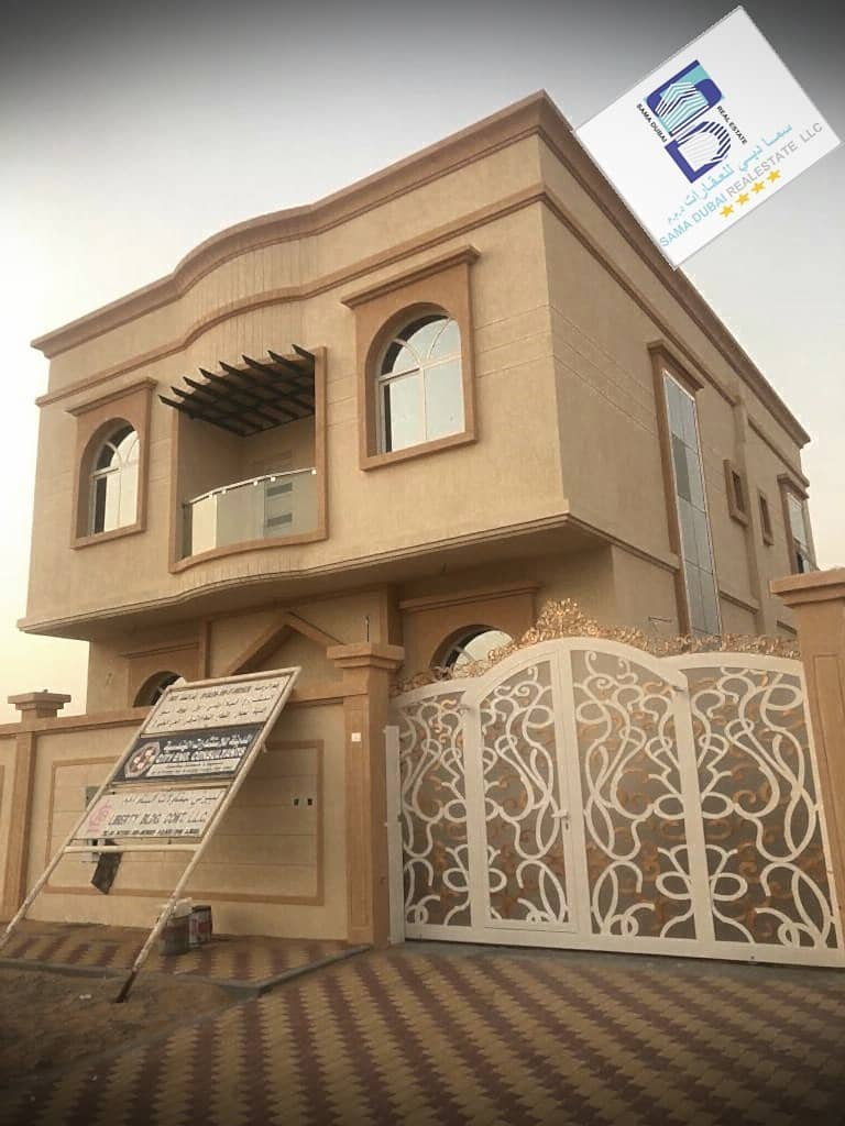 Wonderful and modern villa close to the main road and all services in the finest areas of Ajman (Al Helio) freehold for all nationalities