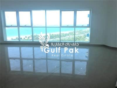 شقة 4 غرف نوم للايجار في منطقة الكورنيش، أبوظبي - شقة في منطقة الكورنيش 4 غرف 180000 درهم - 4568480
