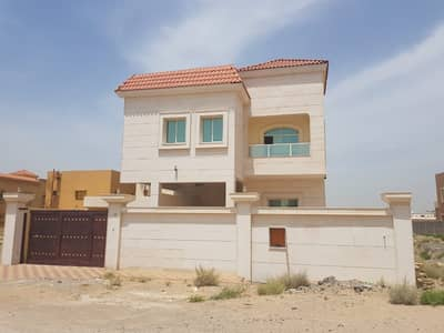 6 Bedroom Villa for Sale in Al Rawda, Ajman - Villa for sale, Super Deluxe finishes, stone facade, freehold, without down payment, large banking facilities