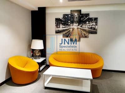 مکتب  للايجار في أبراج بحيرات الجميرا، دبي - Fully Furnished & Fitted Office in One Lake Plaza