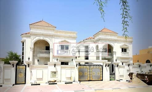 5 Bedroom Villa for Sale in Al Rawda, Ajman - Luxury villa with a luxurious stone facade and the finest designs and the finest decors