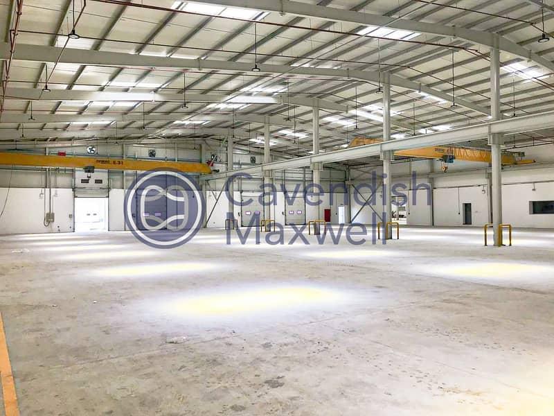 Warehouse with Gantry Crane | Brand New