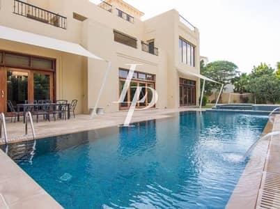 7 Bedroom Villa for Rent in Al Barari, Dubai - Unique Family Home | A-Type | Private Pool