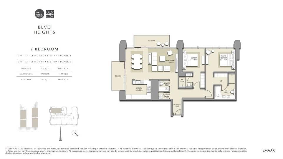 9 Prime BLVD Position | Best Price | High Floor