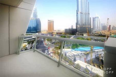 فلیٹ 1 غرفة نوم للبيع في وسط مدينة دبي، دبي - 1 Bed | Vacant | Full Burj Khalifa Views