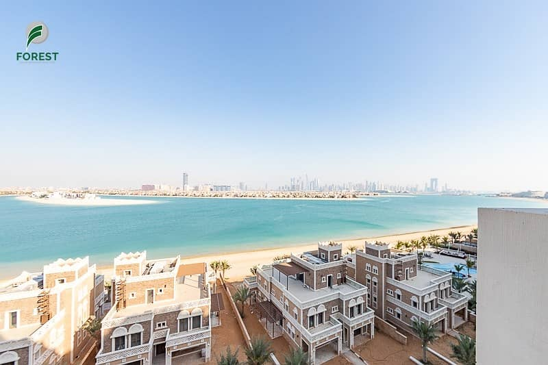 14 2 BR with Fantastic View of Sea and Palm Jumeirah
