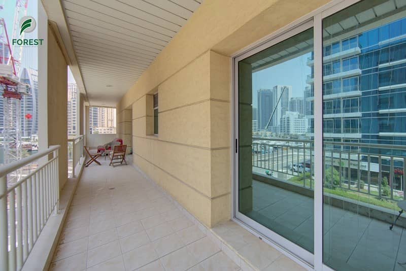 13 Spacious 2 Bedroom with Marina View Unfurnished