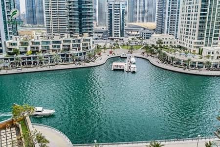 فلیٹ 2 غرفة نوم للايجار في دبي مارينا، دبي - Vacant 2 Bedrooms with Marina View on High Floor