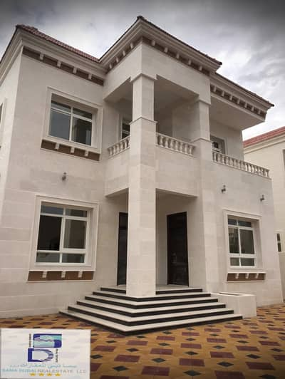 Fully stone villa, a magnificent large area and close to all services, the finest areas of Ajman (Jasmine) for freehold for all nationalities