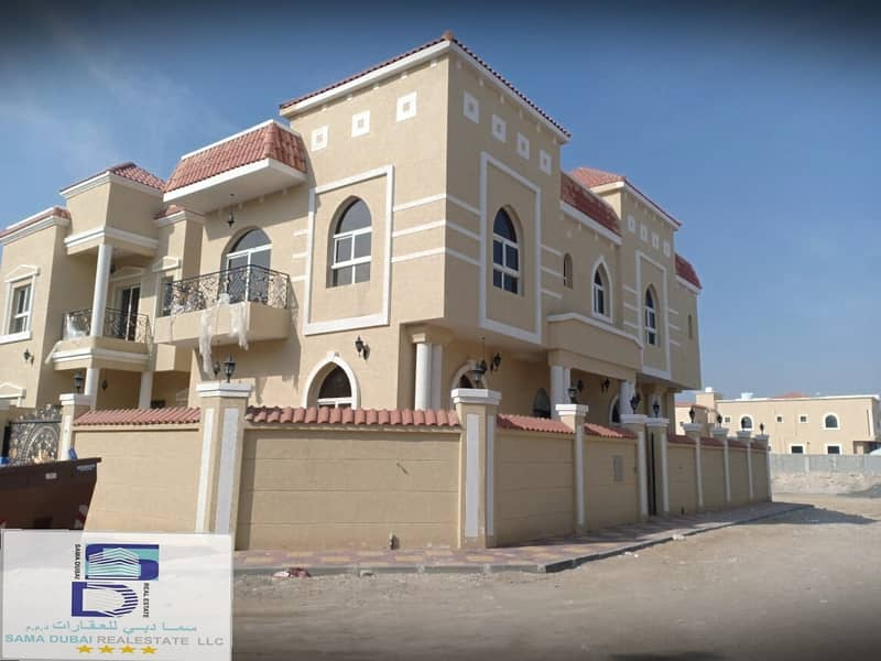 Wonderful corner villa at a great price and close to all services in the finest areas of Ajman (Al Muwaihat) for freehold for all nationalities