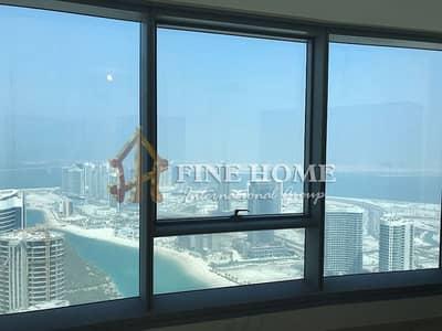 شقة 3 غرف نوم للبيع في جزيرة الريم، أبوظبي - Nice 3 BR + Maid Room apartment in Sun Tower