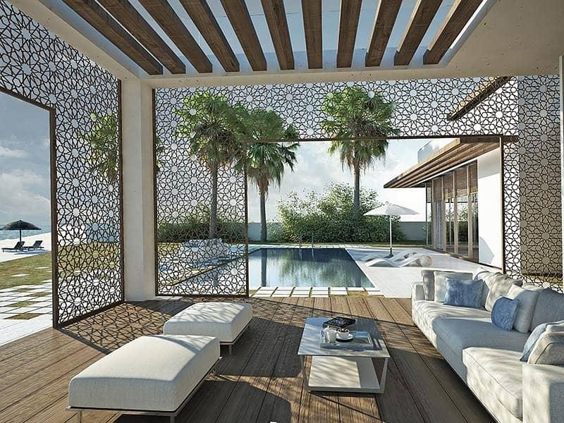 10 Exclusive corner luxury villa few meters from the beach