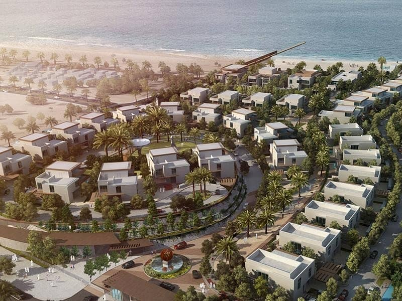2 Exclusive corner luxury villa few meters from the beach