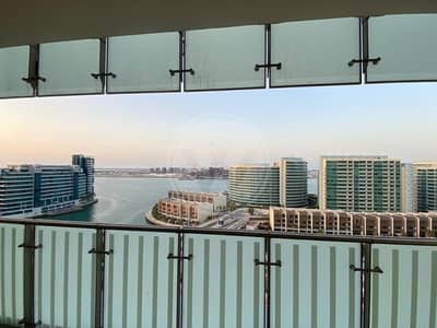 1 Bedroom Flat for Rent in Al Raha Beach, Abu Dhabi - Exclusive | Sea View | Available March end
