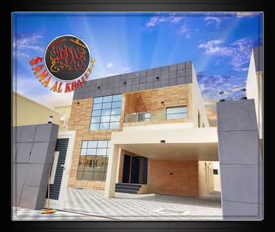 Modern villa with stone facade and elegant design for sale in Ajman