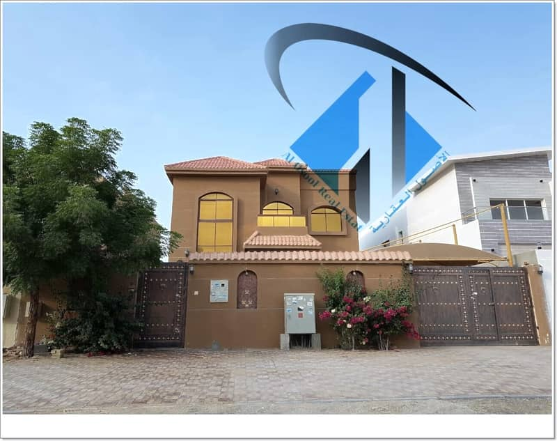 Villa with elec. and water very good condition nearby mosque  With Good Finish And Design.