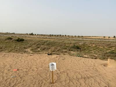 Plot for Sale in Al Aaliah, Ajman - Land on a main street  cheap price