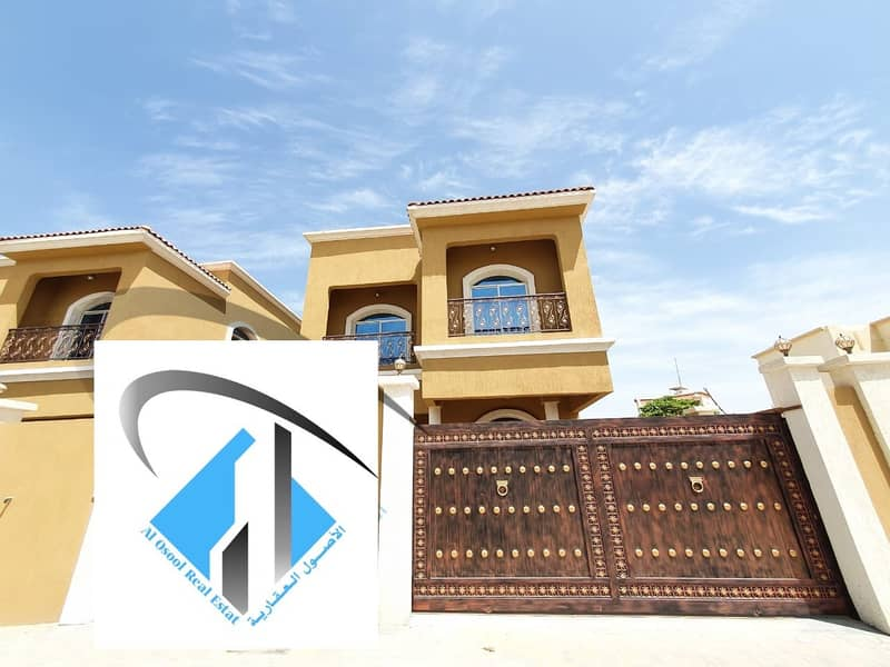 new Villa with excellent design Free Hold For All Nationalities in very good price. .