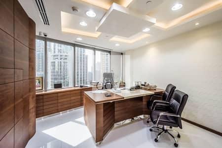 مکتب  للبيع في أبراج بحيرات الجميرا، دبي - Fitted Office | Low Floor | Lake View