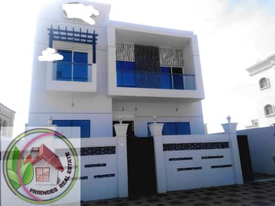 4 Bedroom Villa for Sale in Al Yasmeen, Ajman - Owns a villa with a modern design at an attractive price and a suitable space freehold for all nationalities