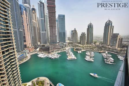3 Bedroom Apartment for Sale in Dubai Marina, Dubai - 3 Bed I Marina Terrace I Full Marina View | Vacant