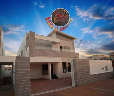 5 Bedroom Villa for Sale in Al Rawda, Ajman - New  outstanding villa  for sale - modern design and great location