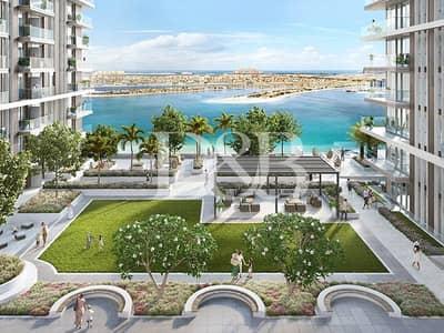 شقة 2 غرفة نوم للبيع في دبي هاربور، دبي - Direct Beach Access | Full Sea & Palm View