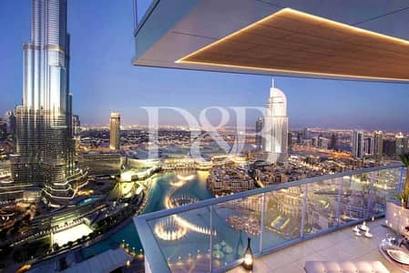 Pay 25% and Move In | Full Burj Khalifa View