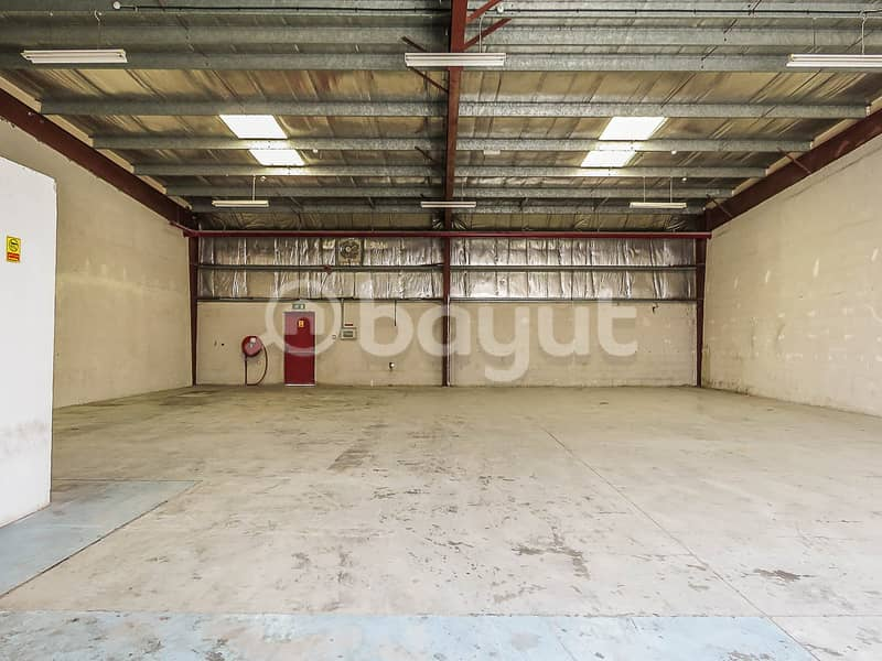 1 month free- Warehouse -DIP 1-includes office and Kitchen