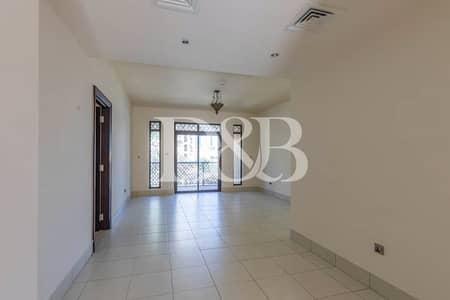 شقة 1 غرفة نوم للايجار في المدينة القديمة، دبي - Very Spacious | Quiet | Community Views