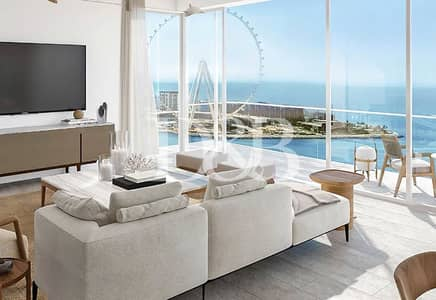2 Bedroom Penthouse for Sale in Jumeirah Beach Residence (JBR), Dubai - Last 2 Bedroom with Full Sea & Palm View | Call me