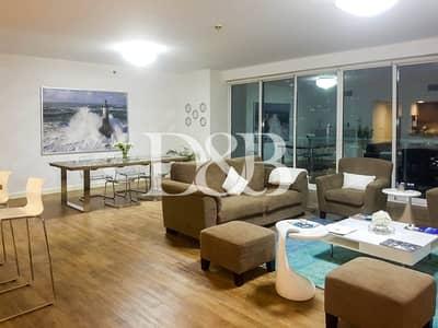 فلیٹ 2 غرفة نوم للبيع في أبراج بحيرات الجميرا، دبي - Upgraded 2 Bed | Full Lake View | Fully Furnished