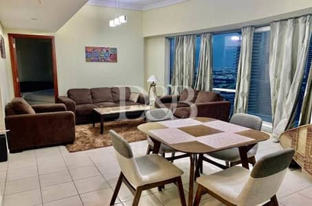 2 Bedroom Apartment for Rent in Jumeirah Lake Towers (JLT), Dubai - Upgraded Fully Furnished Marina View | Vacant