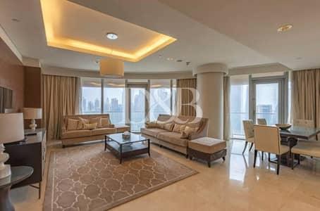 شقة 3 غرف نوم للايجار في وسط مدينة دبي، دبي - Large Balcony | Full Burj And Fountain View