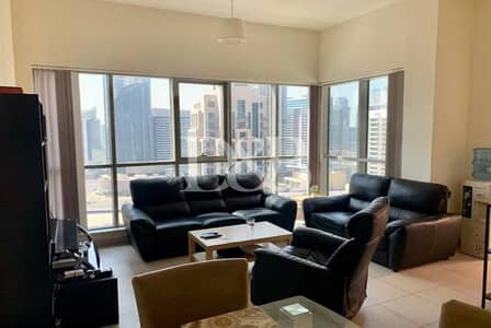 2 Bedroom Apartment for Rent in Downtown Dubai, Dubai - Burj Khalifa View | Huge Terrace | High Floor