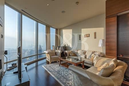 فلیٹ 2 غرفة نوم للبيع في وسط مدينة دبي، دبي - Vacant On Transfer | Furnished | Burj Khalifa