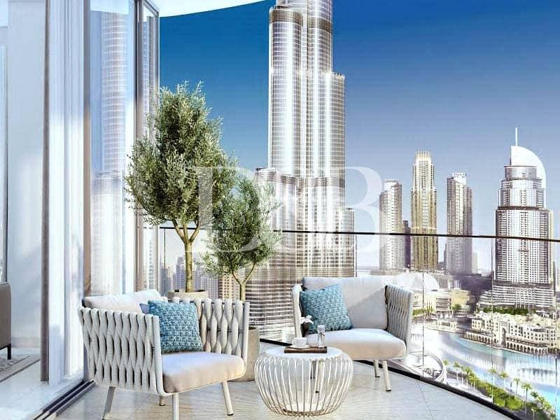 2 Burj and Fountain View | Next to Dubai Mall