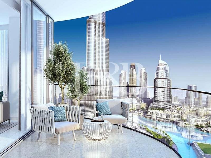 Striking View Of Burj Khalifa | 2 Br Apartment