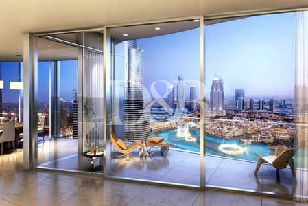 بنتهاوس 5 غرف نوم للبيع في وسط مدينة دبي، دبي - Best Deal | Signature Half Floor Penthouse