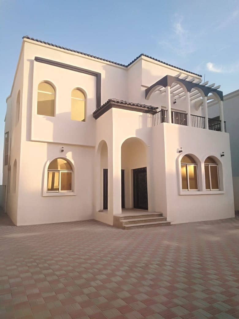 New villa for sale in Ajman Al Mwaihat at a very good price and spacious area .