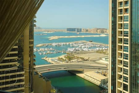 3 Bedroom Flat for Rent in Dubai Marina, Dubai - Lovely 3BR Amazing View 2 large balconies