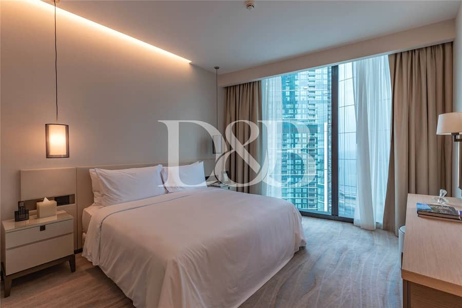 10 City & Marina View  | Fully Furnished 1 Bedroom