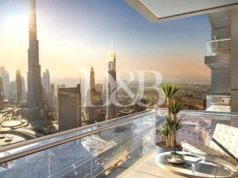 2 Mid Floor   Burj Views   Pay after 4 Years