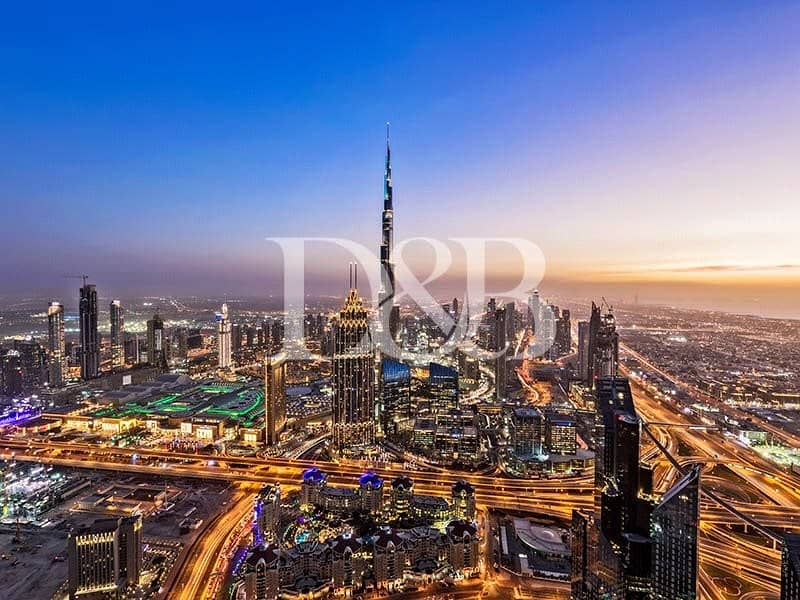 10 Mid Floor   Burj Views   Pay after 4 Years